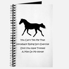 Funny Horse People Humor Journal