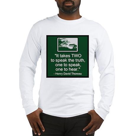 Truth - Thoreau Long Sleeve T-Shirt