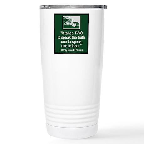 Truth - Thoreau Stainless Steel Travel Mug