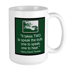 Truth - Thoreau Mug