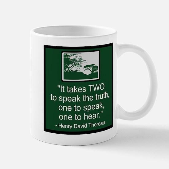 Truth - Thoreau Mug