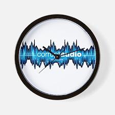 Corrupt Audio Network Logo Wall Clock