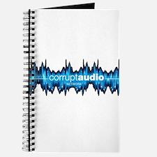 Corrupt Audio Network Logo Journal
