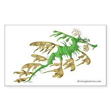 Sea Dragon Rectangle Decal