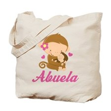 Abuela Monkeys Gift Tote Bag