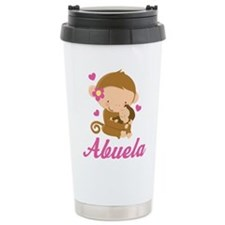 Abuela Monkeys Gift Travel Mug