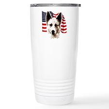 canaan dog Travel Mug