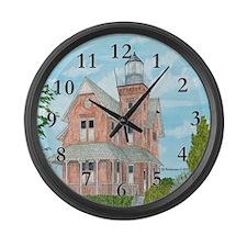 Sea Girt Lighthouse Large Wall Clock