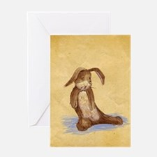 Velvet-Rabbit 7 Greeting Card