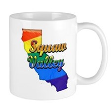 Squaw Valley, California. Gay Pride Mug