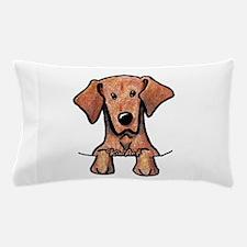 Pocket Vizsla Pillow Case