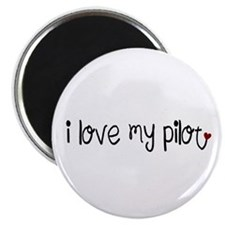I Love my Pilot Magnet