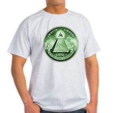 novus ordo seclorum black T-Shirt