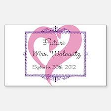 Future Mrs Sticker (Rectangle)
