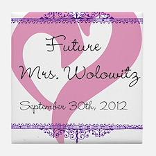 Future Mrs Tile Coaster