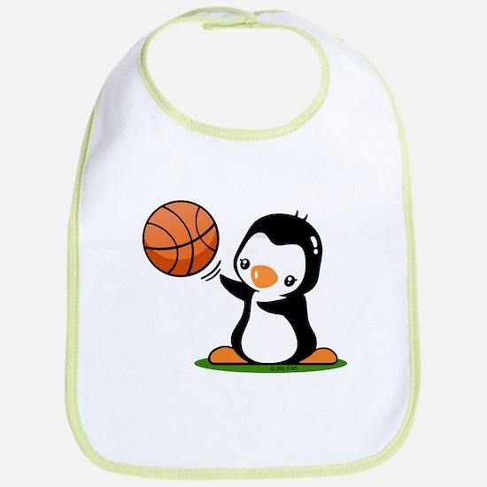 Cute Penguin Bib