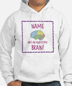 Awesome Brain Girl Hoodie