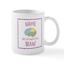 Awesome Brain Girl Mug