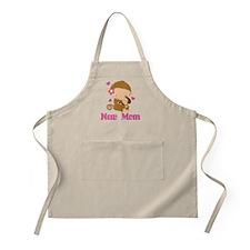 New Mom Monkey Gift Apron
