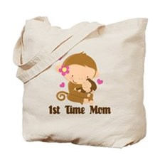 1st Time Mom Monkey Gift Tote Bag