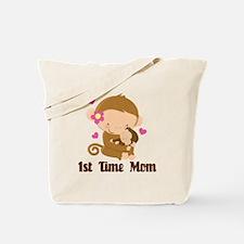 1st Time Mom Monkey Gift Tote Bag