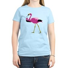 flamingowithmartiniblackt T-Shirt