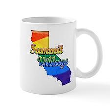 Summit Village, California. Gay Pride Mug