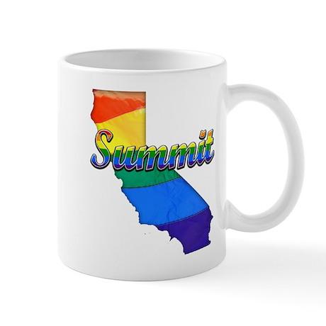 Summit, California. Gay Pride Mug
