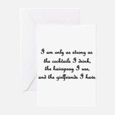 Only as strong as... Greeting Cards (Pk of 10)