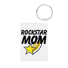 Rockstar Mom Keychains