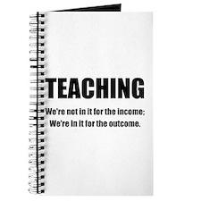 Teacher Outcome Journal