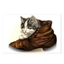 Kitten in Shoe Postcards (Package of 8)