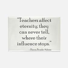 Teacher Eternity Rectangle Magnet (10 pack)
