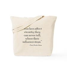 Teacher Eternity Tote Bag