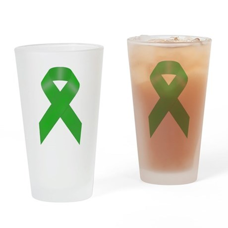 Awareness Ribbon Drinking Glass