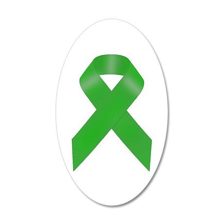 Awareness Ribbon 38.5 x 24.5 Oval Wall Peel