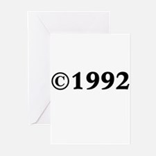 1992 Greeting Cards (Pk of 20)