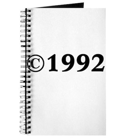 1992 Journal