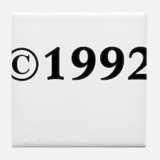 1992 Tile Coaster