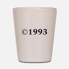 1993 Shot Glass