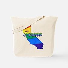 Termo, California. Gay Pride Tote Bag