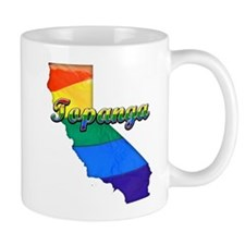 Topanga, California. Gay Pride Mug