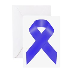 Awareness Ribbon Greeting Card