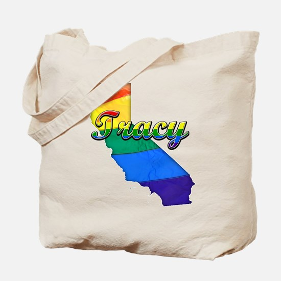 Tracy, California. Gay Pride Tote Bag