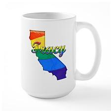 Tracy, California. Gay Pride Mug