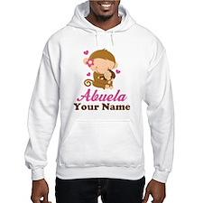 Personalized Abuela Monkeys Hoodie