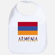 Armenia Flag & Word Bib