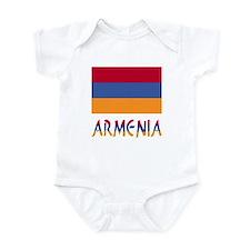 Armenia Flag & Word Infant Bodysuit