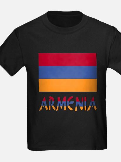 Armenia Flag & Word T