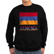 Armenia Flag & Word Sweatshirt